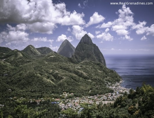 Soufriere Pitons
